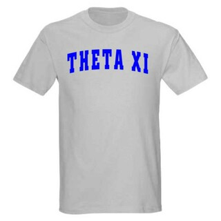 Theta Xi letterman tee