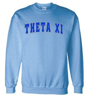 Theta Xi Letterman Twill Crew