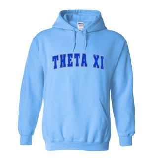 Theta Xi Letterman Twill Hoodie