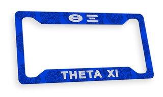 Theta Xi Custom License Plate Frame