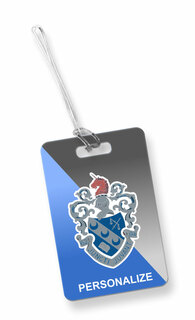 Theta Xi Luggage Tag