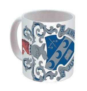 Theta Xi Mega Crest - Shield Coffee Mug