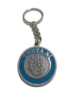 Theta Xi Metal Fraternity Key Chain