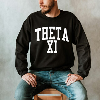 Theta Xi Nickname Crewneck Sweatshirt