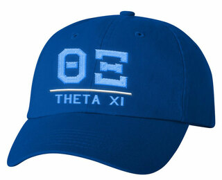 Theta Xi Old School Greek Letter Hat