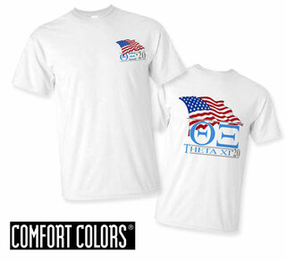 Theta Xi Patriot  Limited Edition Tee - Comfort Colors