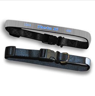 Theta Xi Pet Collar