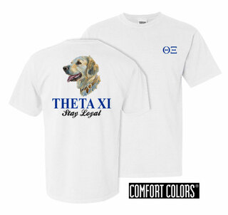 Theta Xi Stay Loyal Comfort Colors T-Shirt