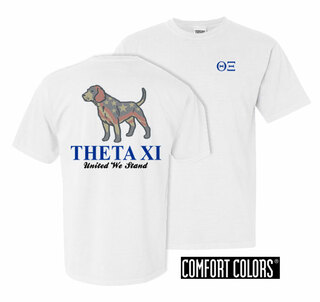 Theta Xi United We Stand Comfort Colors T-Shirt