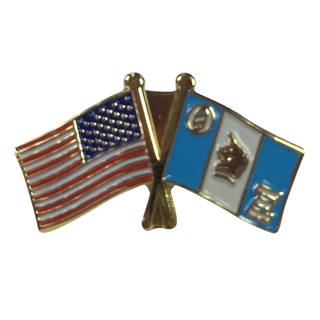 Theta Xi USA Flag Lapel Pin