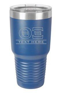 Theta Xi Vacuum Insulated Tumbler