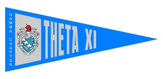 Theta Xi Wall Pennants