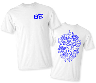 Theta Xi World Famous Crest - Shield Tee