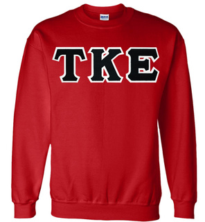 TKE Applique Crewneck Sweatshirt -  $25!