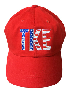 TKE Flag Letter Hat