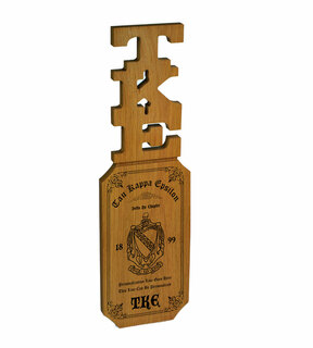 TKE Lettered Handle Paddles