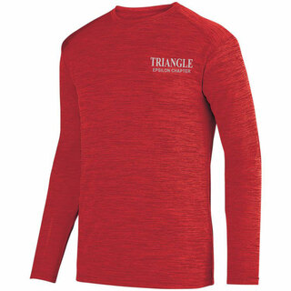 Triangle- $26.95 World Famous Dry Fit Tonal Long Sleeve Tee