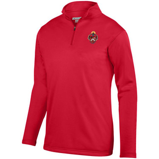 DISCOUNT-Triangle-  World famous-Crest - Shield Wicking Fleece Pullover