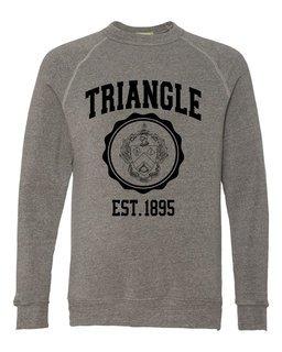 Triangle Alternative - Eco-Fleece� Champ Crewneck Sweatshirt