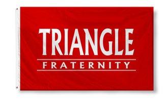 Triangle Custom Line Flag