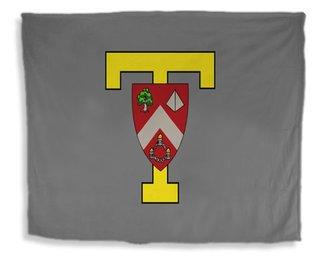 TRIANGLE Flag Giant Velveteen Blanket