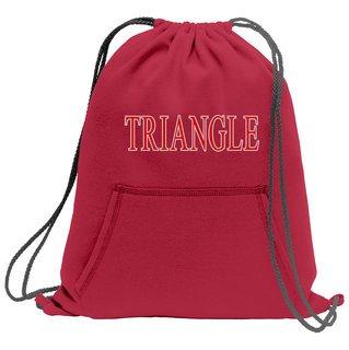 Triangle Fleece Sweatshirt Cinch Pack
