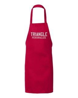 Triangle Large Apron