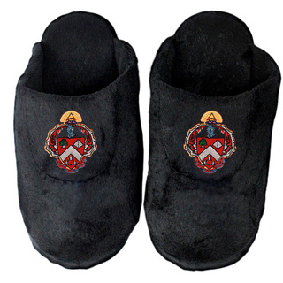 DISCOUNT-Triangle Fraternity Crest - Shield Slippers