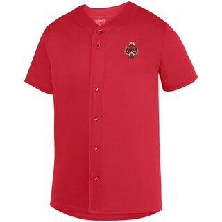 DISCOUNT-Triangle Fraternity Crest - Shield Sultan Baseball Jersey