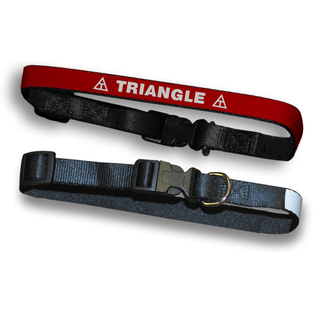 Triangle Fraternity Dog Collar
