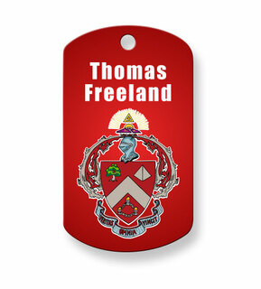 Triangle Fraternity Dog Tags