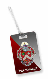 Triangle Fraternity Luggage Tag
