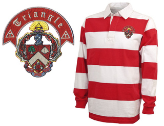 Triangle Fraternity Rugby Shirt