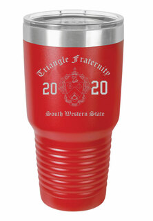 Triangle Insulated Tumbler