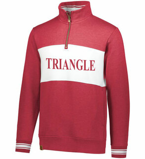 Triangle Ivy League Pullover