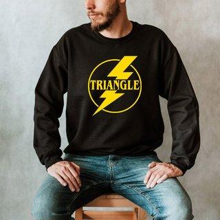 Triangle Lightning Crew Sweatshirt