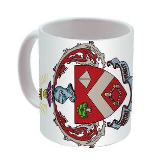 Triangle Mega Crest - Shield Coffee Mug