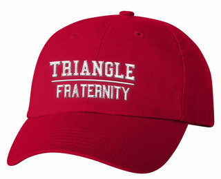 Triangle Old School Greek Letter Hat