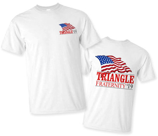 Triangle Patriot Limited Edition Tee- $15!