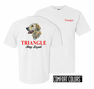 Triangle Stay Loyal Comfort Colors T-Shirt
