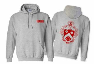 Triangle World Famous Crest - Shield Hooded Sweatshirt- $35!