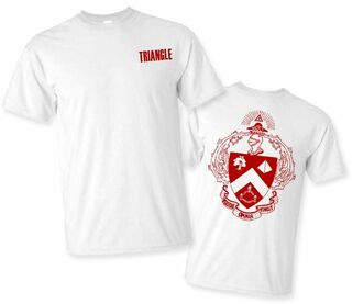 Triangle World Famous Crest - Shield Tee