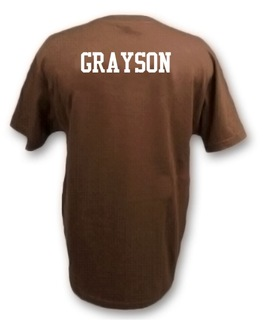 Twill Name on Back
