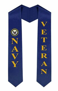 US Navy Graduation Sash Stole