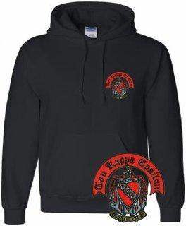 World Famous Crest Greek Hoodie - $25!