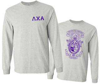 World Famous Crest - Shield Long Sleeve Tee - $20
