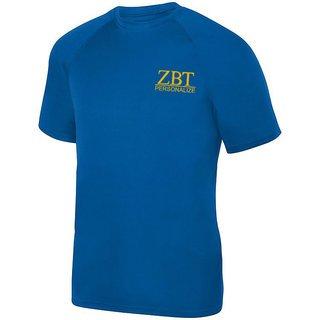 Zeta Beta Tau- $15 World Famous Dry Fit Wicking Tee