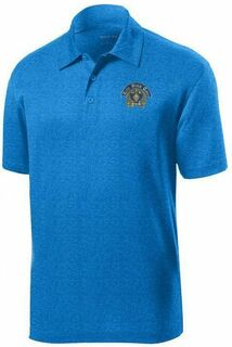 DISCOUNT-Zeta Beta Tau- World Famous Greek Crest - Shield Contender Polo