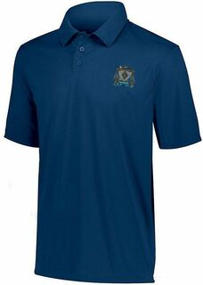 DISCOUNT-Zeta Beta Tau- World Famous Greek Crest - Shield Vital Polo