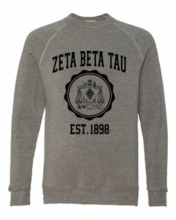 Zeta Beta Tau Alternative - Eco-Fleece� Champ Crewneck Sweatshirt